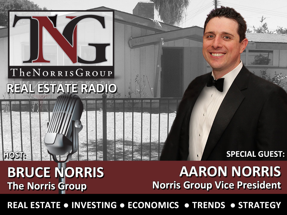Aaron Norris on the Norris Group Real Estate Radio Show