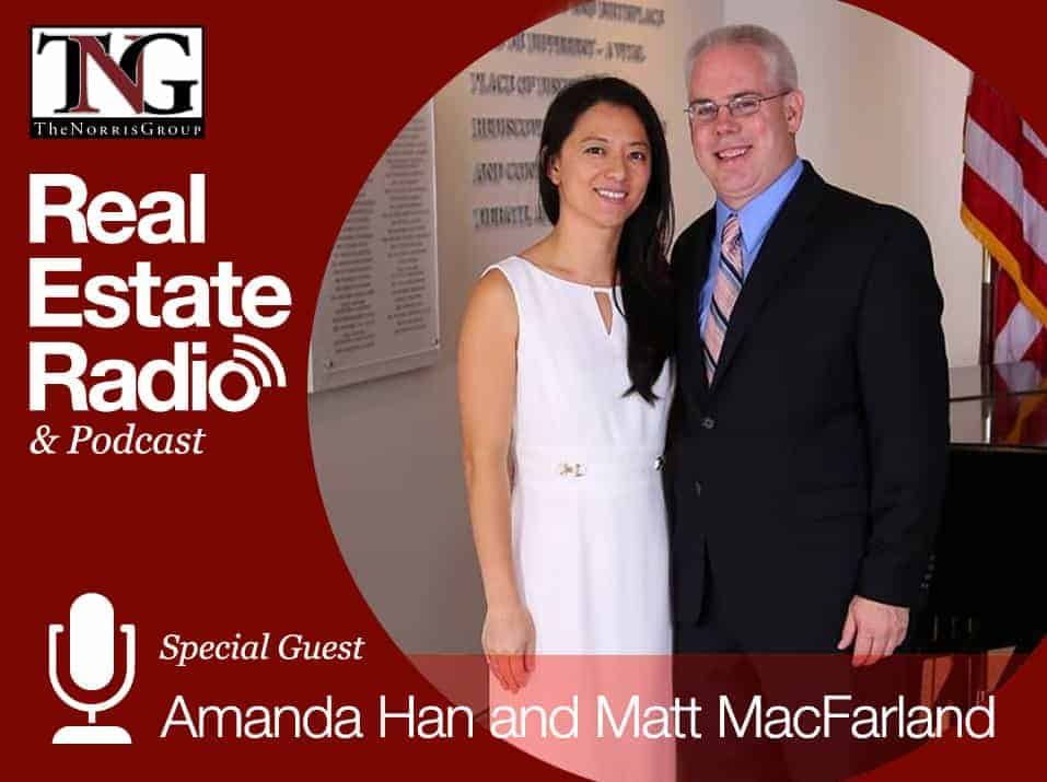 Amanda Han and Matt MacFarland