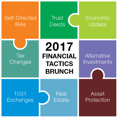 2017 Cutting-Edge Financial Tactics Brunch