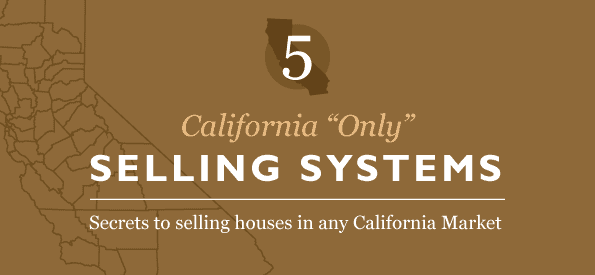 California Real Estate Selling Strategies