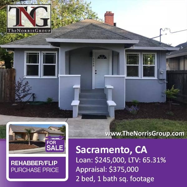 Sacramento Hard Money Loan