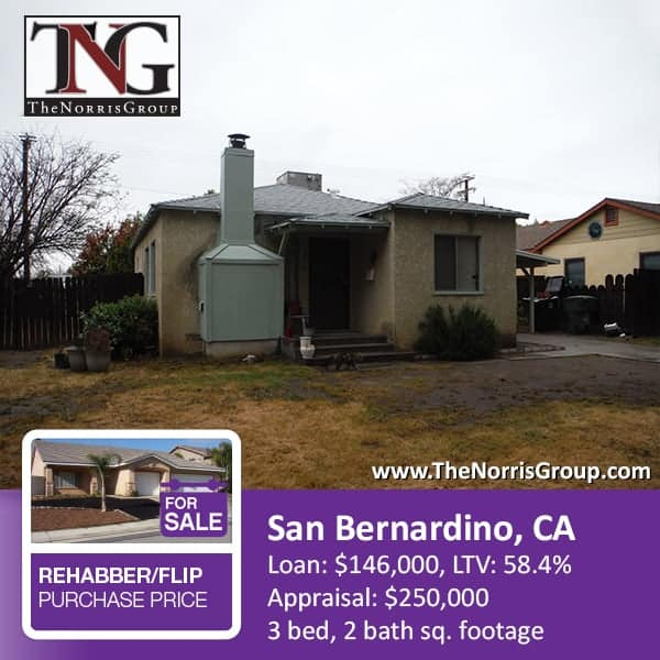 San Bernardino Hard Money Loan