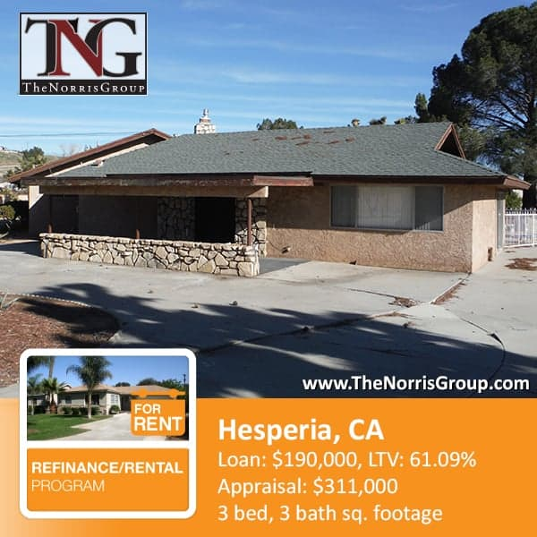 Hesperia Hard Money Loan
